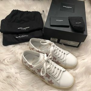 AUTHENTIC Saint Laurent Star Sneakers